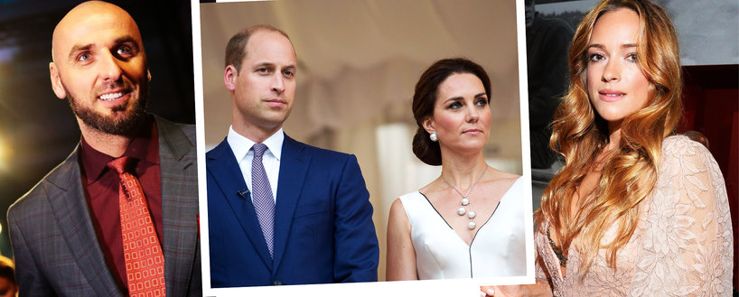 Marcin Gortat, Alicja Bachleda-Curuś, książęWilliam i księżna Kate w Polsce, jamnik