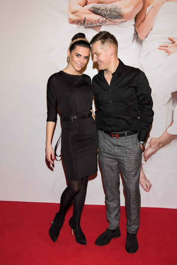 Marcin Mroczek, Marlena Muranowicz, Warszawa, premiera filmu Swingersi, 25.02.2020 rok