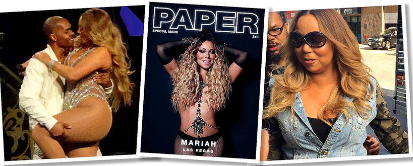 Mariah Carey na okładce Paper Magazine - retusz roku?