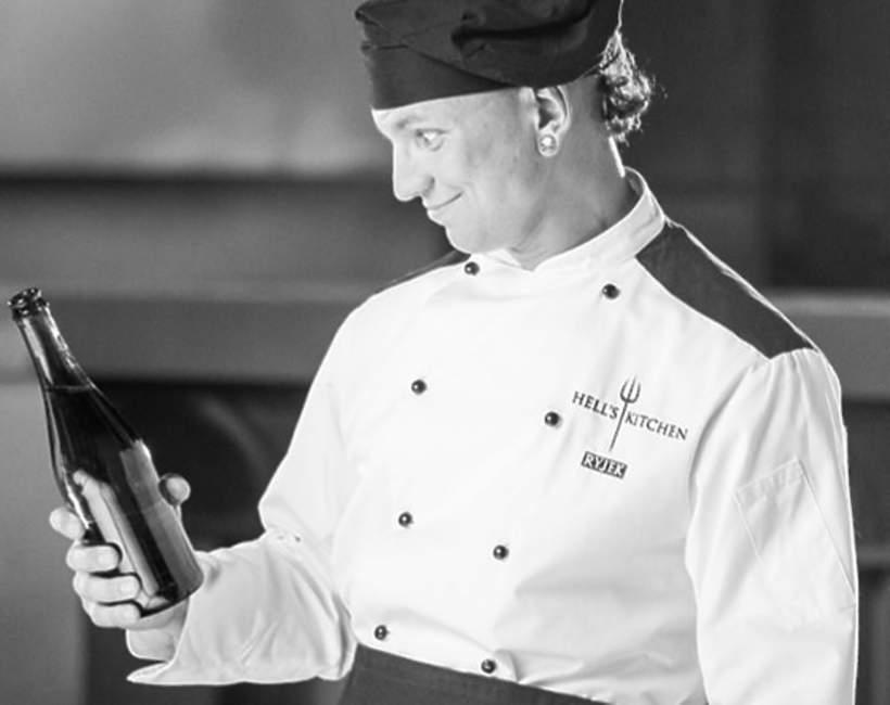 """Mariusz Ryjek, Mariusz Adam Ryjek, spot wizerunkowy Polsatu, """"Hell's Kitchen"""", 16.08.2014 rok"""