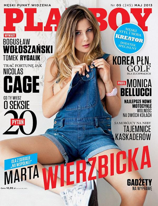 Marta Wierzbicka, Playboy