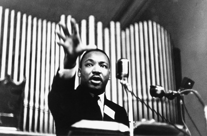 Martin Luther King - orgie, gwałty, 1966