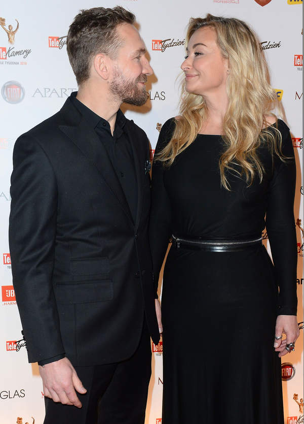 Martyna Wojciechowska i Przemysław Kossakowski, Gala Telekamery Tele Tygodnia 2019, 25.02.2019, Warszawa