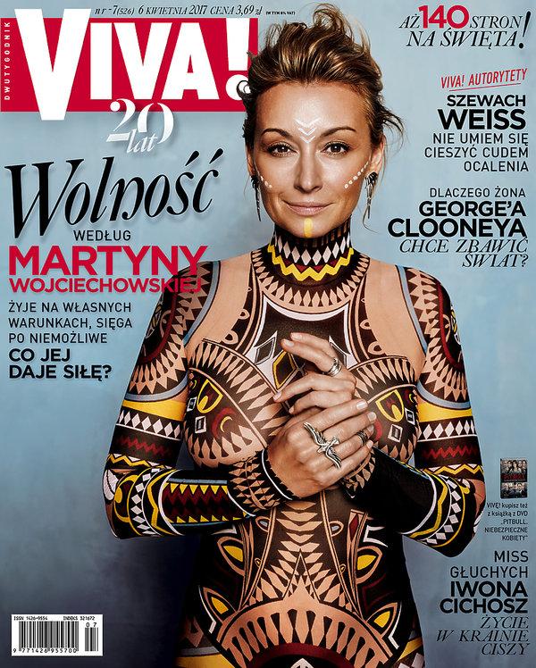 Martyna Wojciechowska, VIVA! kwiecień 2017