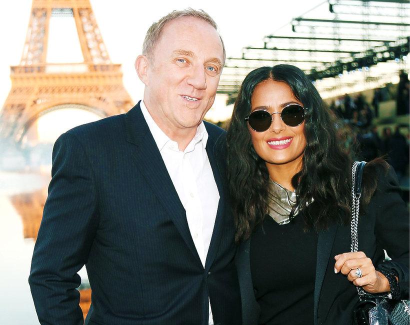 Mąż Salmy Hayek,  François-Henri Pinault, przeznaczy 100 milionów euro na odbudowę Notre Dame