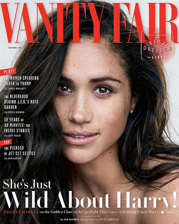 Meghan Markle dla Vanity Fair