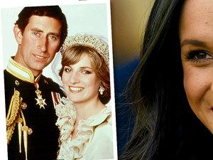 Meghan Markle, księżna Diana, książę Karol