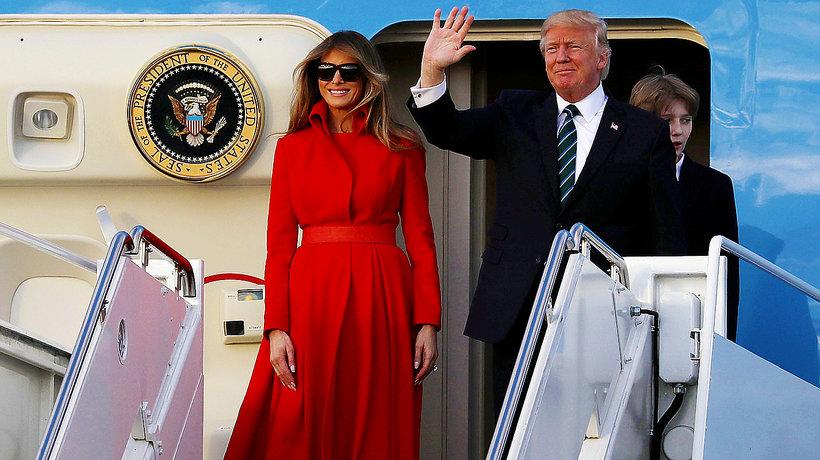 Melania Trump, Donald Trump, Wizyta w Poslce