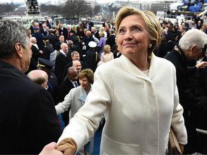 Melania Trump, Hillary Clinton, Ralph Lauren, zaprzysiężenie Donalda Trumpa