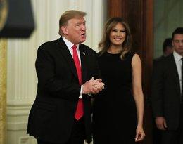 Melania Trump i Donald Trump w trakcie Międzynarodowego dnia Afroamerykanów, 21.02.2019 rok