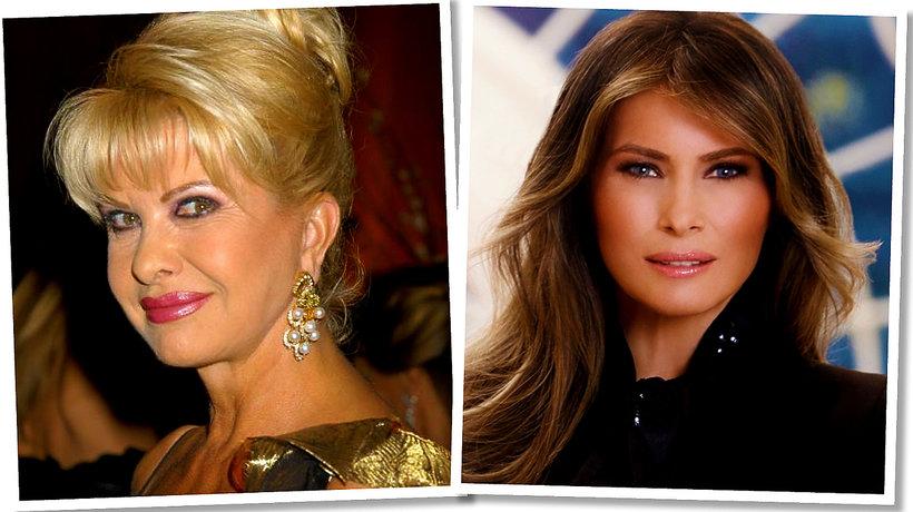 Melania Trump i Ivana Trump, czyli kto jest pierwszą damą
