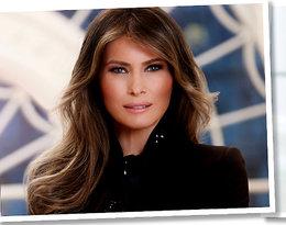 Oto oficjalne zdjęcie Melanii Trump jako pierwszej damy! Wypadła lepiej niż Michelle Obama?
