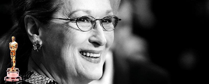 Meryl Streep, Oscary, nominacje Meryl Streep do Oscarów