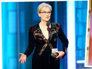 Meryl Streep, Ryan Gosling, Złote Globy 2017, Donald Trump