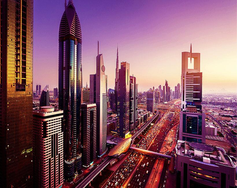 miasto przyszłości, Dubaj, ZEA, Arabia Saudyjska