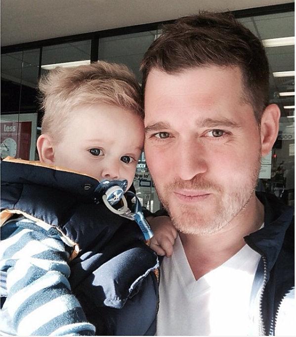 Michael Bublé, syn Michaela Bublé