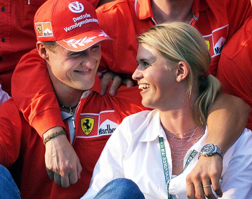 Michael Schumacher, Corinna Schumacher