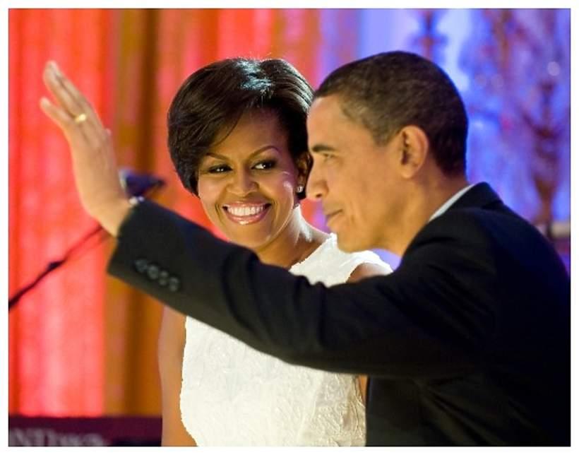 Michelle i Barack Obama, Washington DC, 2009
