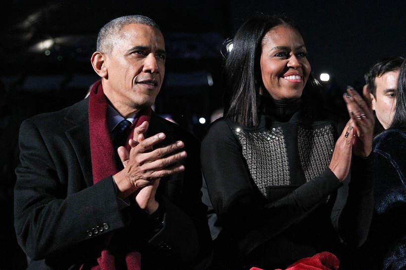 Michelle i Barack Obama, Washington DC, 2016