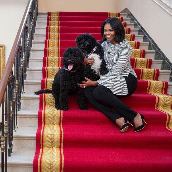 Michelle Obama w Białym Domu