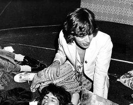 Mick Jagger z Keithem Richardsem 12 maja 1971 roku