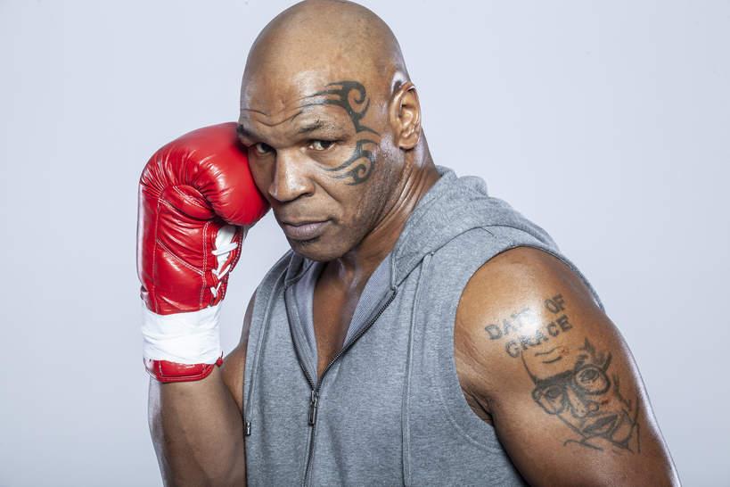 Mike Tyson, grudzień 2015, Los Angeles, Kalifornia
