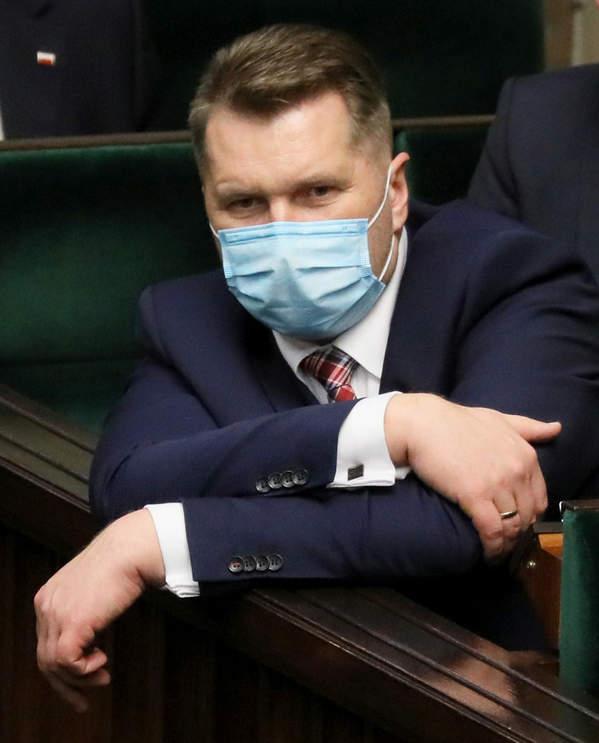 Minister edukacji Przemysław Czarnej, 09.12.2020 rok, Sejm
