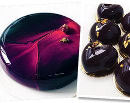 Wyjątkowa receptura, smak i wygląd! Dlaczego lustrzane ciasta cieszą się niesłabnącą popularnością?