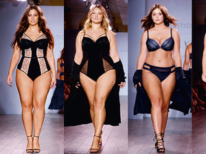 modelki plus size na pokazie Ashley Graham