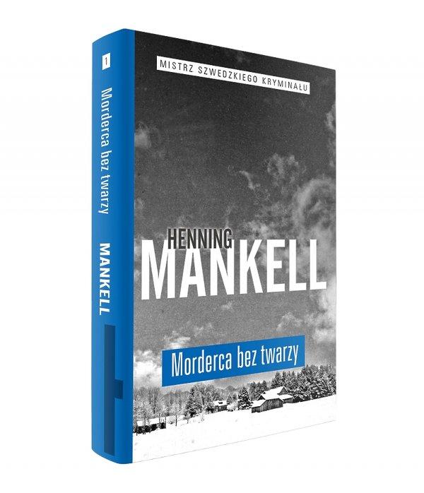 """""""Morderca bez twarzy"""" Henning Mankell okładka"""