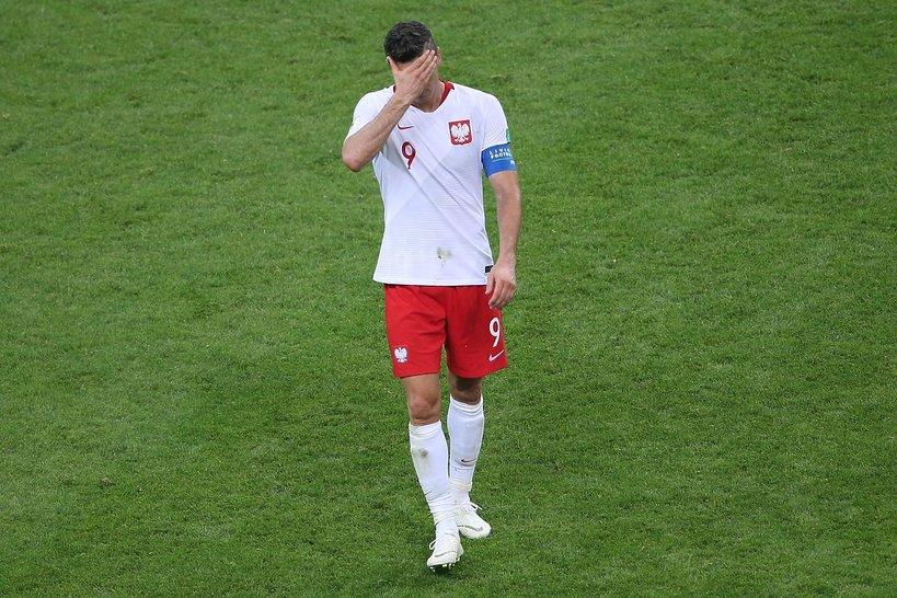 Mundial 2018: Polacy płakali po przegranym meczu z Kolumbią