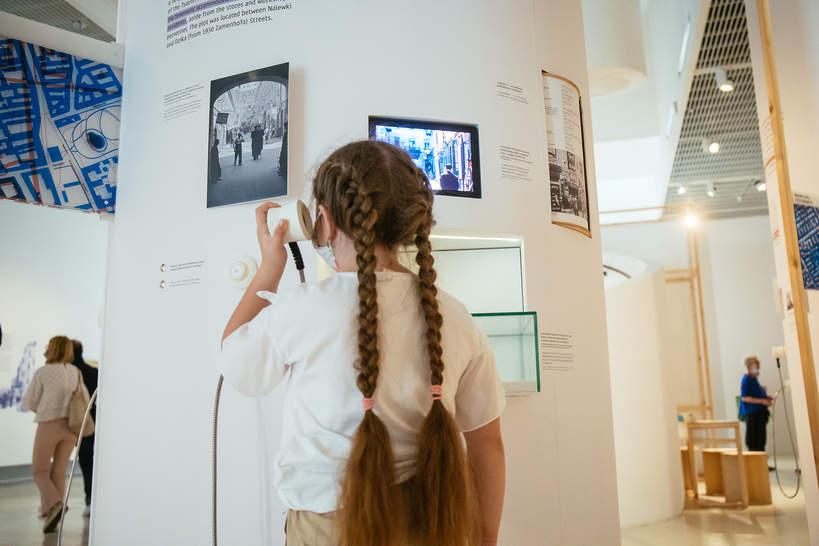 Muranów, Polin, wystawa