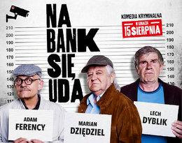 Maciej Stuhr kontra gang staruszków w komedii kryminalnej Na bank się uda