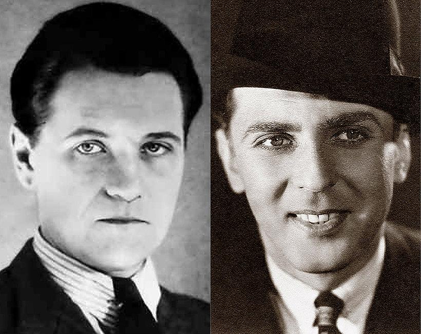 Najwięksi amanci 20-lecia międzywojennego: Eugeniusz Bodo, Adolf Dymsza, Antoni Fertner, Aleksander Żabczyński