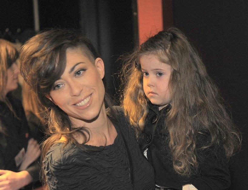 Natalia Kukulska z córką Anią, 24.04.2010, premiera w teatrze Bajka