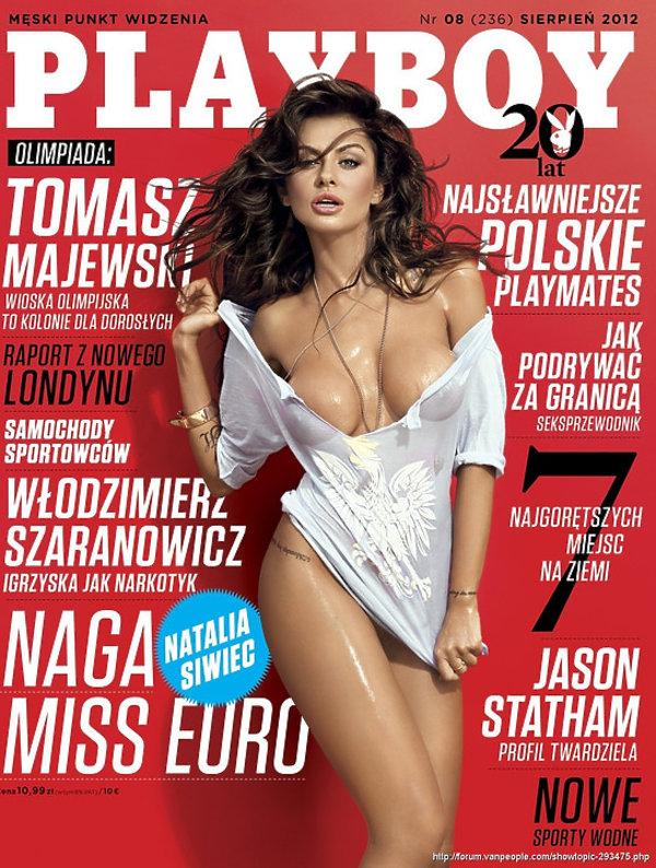 Natalia Siwiec, Playboy