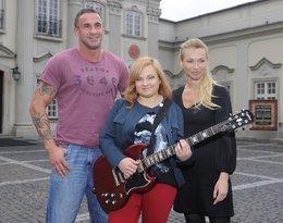 Nicole Saleta z rodzicami, Przemysławem Saletą i Ewą Pacułą