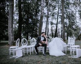 Niepublikowane zdjęcia ze ślubu Rafała Maślaka i Kamili Nicpoń