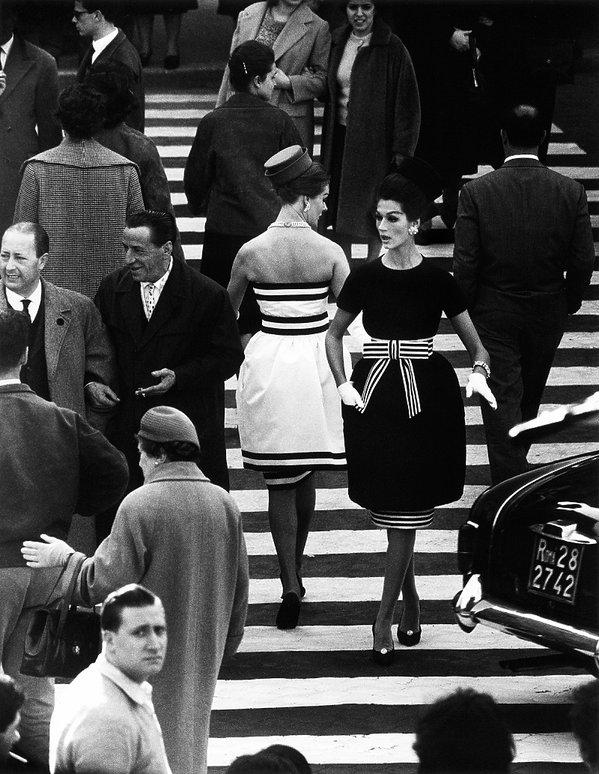 Nina + Simone, Piazza di Spagna, Rome, April 1960
