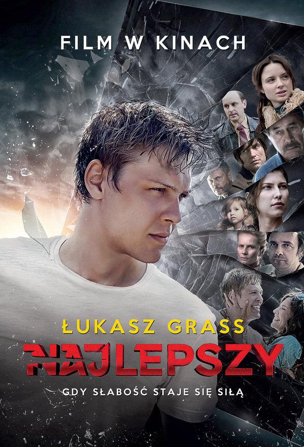"""Okładka książki """"Najlepszy"""" Łukasza Grassa"""