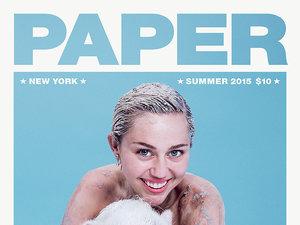 okladka Paper z Miley Cyrus