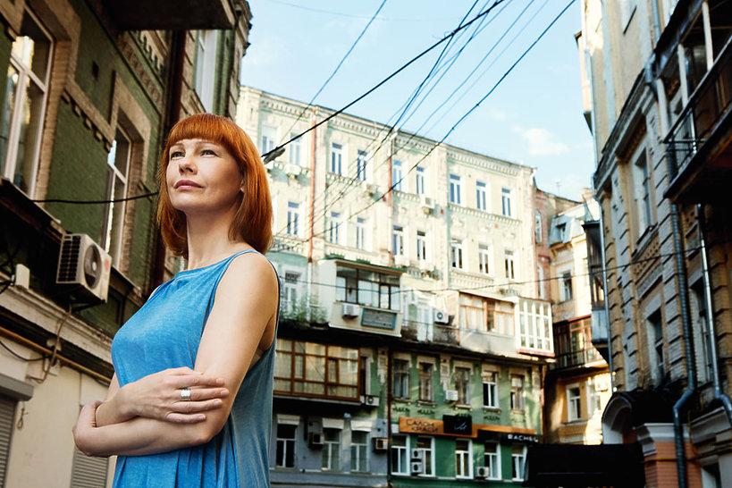 Olena Leonenko-Głowacka , Viva!, lipiec 2014