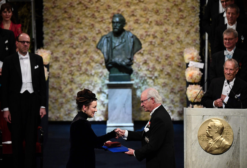 Olga Tokarczuk, Nobel