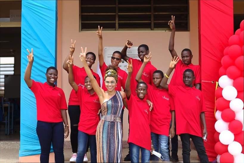 Omenaa Foundation - szkoła w Ghanie, Omenaa Mensah