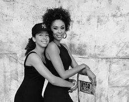 Omenaa Mensah z córką Vanessą