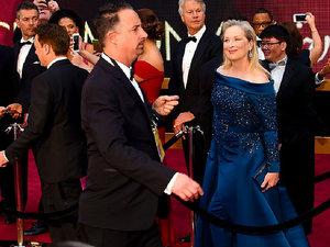 Oscary 2017, Meryl Streep, Jimmy Kimmel, gwiazdy na czerwonym dywanie Oscary