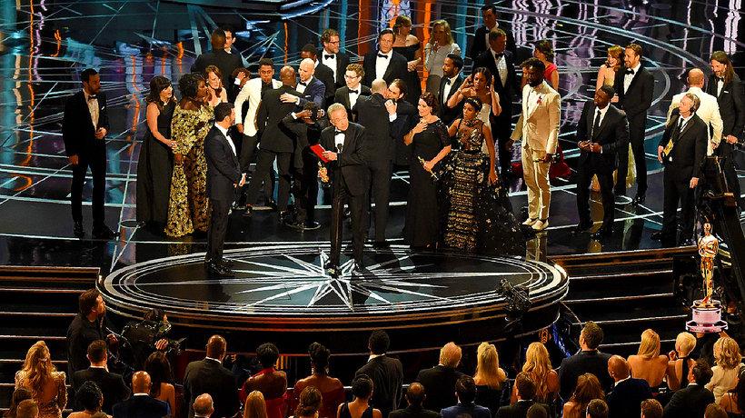 Oscary 2017, najlepszy film, skandal na Oscarach, Oscary 2017 skandal