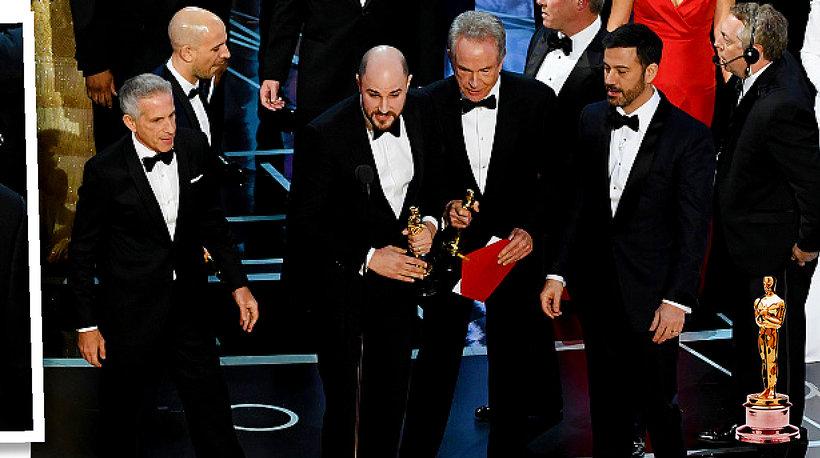 Oscary 2017, najlepszy film, skandal na Oscarach, Oscary 2017 skandal, Warren Beatty, Faye Dunaway