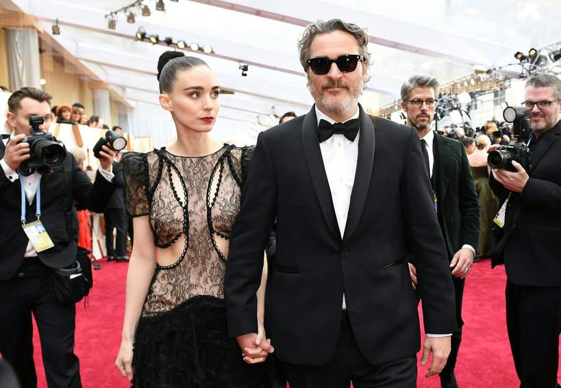 Oscary 2020: najlepsze pary, Joaquin Phoenix, Mara Rooney