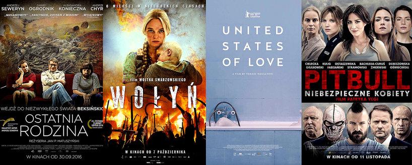 """""""Ostatnia rodzina'', """"Wołyń'', """"Zjednoczone stany miłości'', """"Pitbull. Niebezpieczne kobiety''"""
